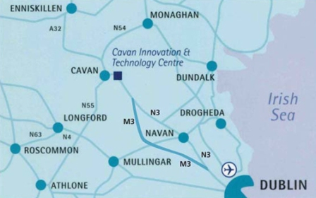 Map Of Ireland Cavan.Maps Directions Cavan Innovation Technology Centrecavan